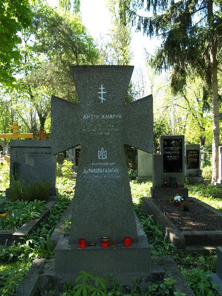 Ольшанське кладовище, частина 2ob, відділ 18, поховання №424.