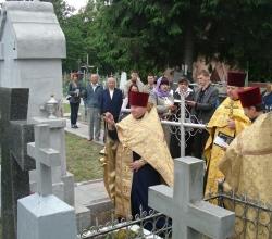 Освячення пам\'ятника
