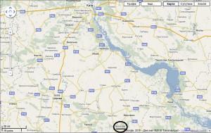 Мапа розташування м. Богуслав (натисніть для збільшення)