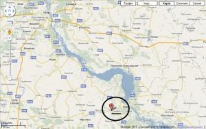 Мапа розташування с. Степанці (натисніть для збільшення)