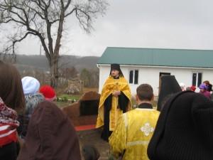 Богулав. Відкриття пам'ятного знаку двом козакам Армії УНР, які загинули під Базаром