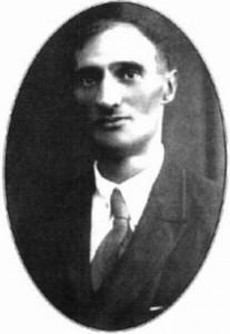 Один з акторів таборового театру - сотник Юрій Дараган