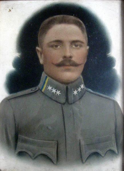 Микола Терлецький (батько Івана Терлецького) в однострої УСС
