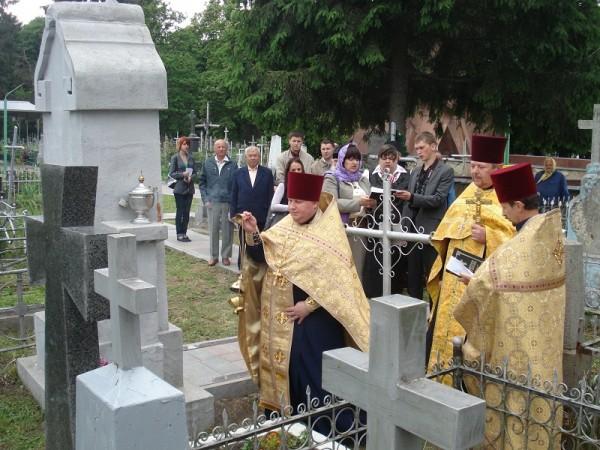 Освячення пам'ятника