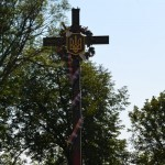 Пам'ятник на могилі упівців, поляглих у бою з німцями