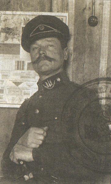 Олександр Пилькевич, фото 1921 р. (з фондів ЦДАВОУ)