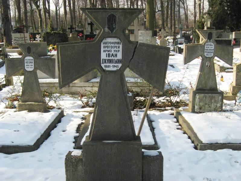 Могила митрофорного потоієрея Армії УНР Івана Джулинського