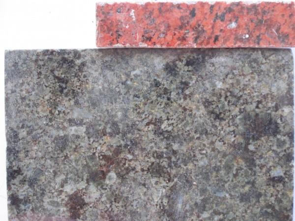 Зразки матеріалу, що будуть використовуватись у спорудженні пам'ятника