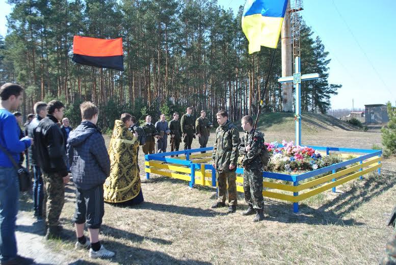 Вшанування бійців УПА у Мигалках