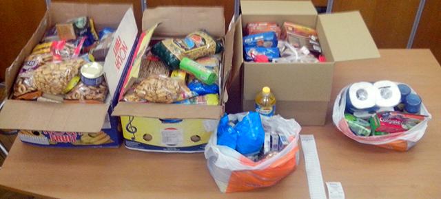 Збір продуктів харчування для армії
