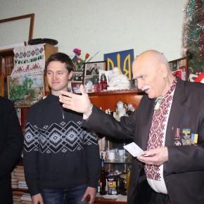 Вручення нагороди пану Василю Матвієнку