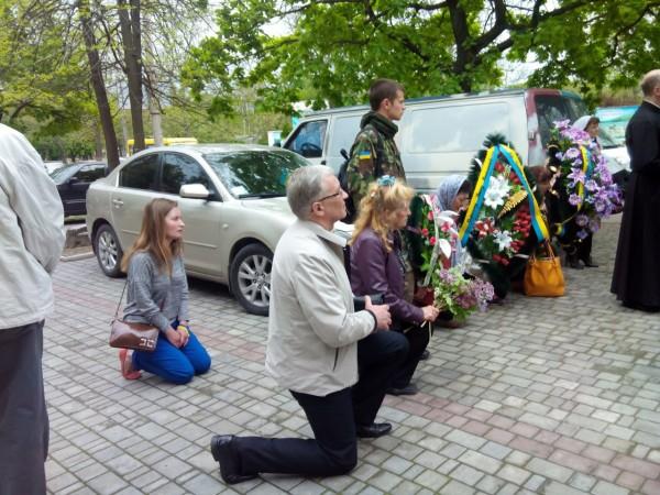 Херсонці прощаються з ветераном УПА