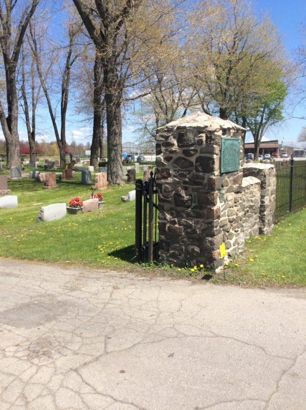 Вхід №2 до цвинтаря Святого Матвія, Баффало, США.