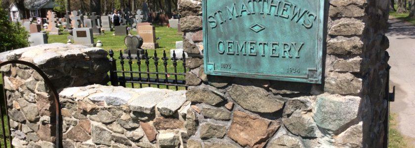 Цвинтар святого Матвія у Баффало, США.