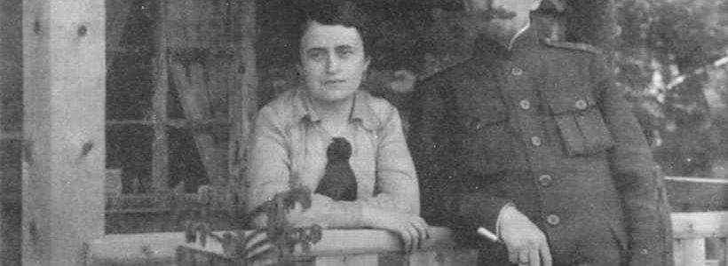 Петро Болбочан із дружиною