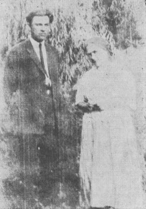 Іван Ухів з дружиною в перший рік приїзду до Аргентини