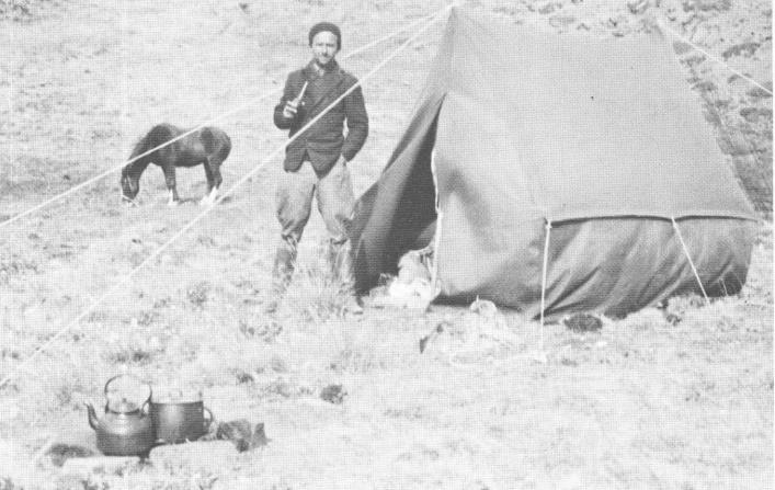 Віктор Цимбал у мандрівці до Патагонії, 1936 р.
