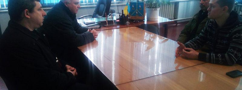 Зустріч в кабінеті Ананьївського міського голови