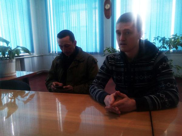 """Представники """"Героїки"""" Олег Собченко та Павло Подобєд"""