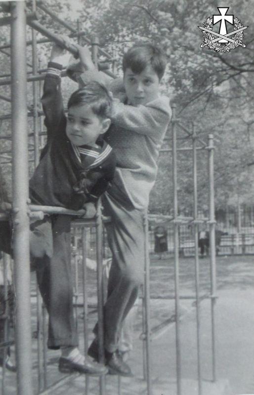 Олександр та Зиновій Балабан. Центральний парк Нью-Йорка, 1957.